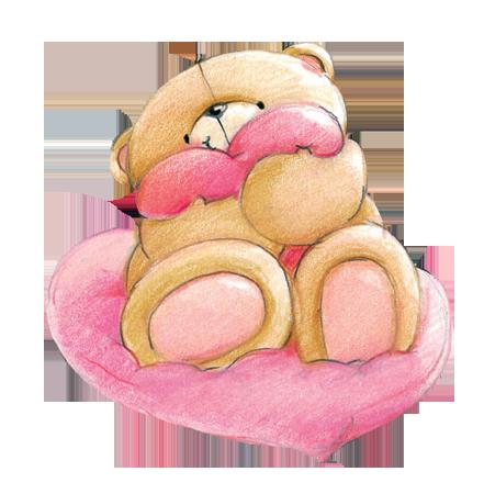 Мишки  Картинки про любовь